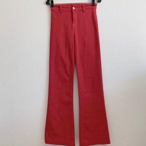 JBRAND Tailored Flare worn by January Jones